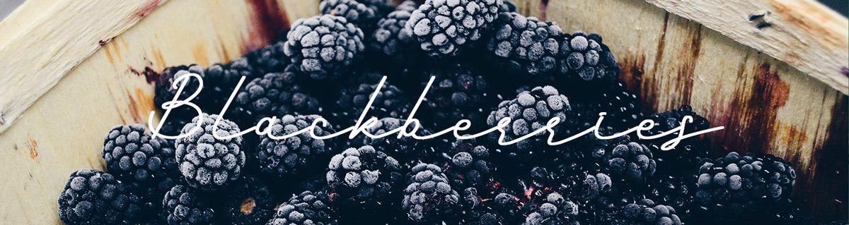 1. Blackberries